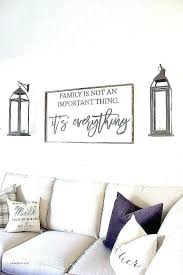 wall decor sayings signs beautiful best wood with for the large sa