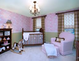 fresh wallpaper with curtain and cibs also recliner with ottoman also chandelier for baby nurseries