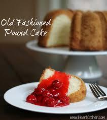 Old Fashioned Pound Cake I Heart Kitchen