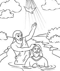 Small Picture Holy Spirit Came Down in John the Baptist Coloring Page NetArt