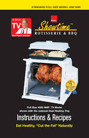 Ronco Rotisserie Cooking Time Chart Ronco St4023ssgen Use And Care Manual Manualzz Com