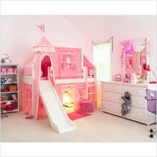 girls bedroom sets with slide. Toddler Girls Bedroom Sets | Matrix Low Loft Castle Bed For With Slide L