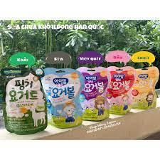 DATE MỚI] Bánh Sữa chua khô cho bé ăn dặm ILDONG Hàn Quốc - sấy lạnh giữ  nguyên dinh dưỡng giảm chỉ còn 89,000 đ