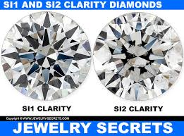 Diamond Clarity Chart Si1 What Si Clarity Really Means Jewelry Secrets