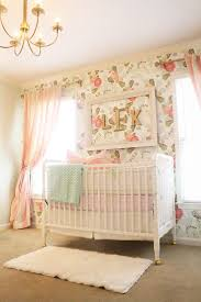 93 best Baby girl nursery images on Pinterest   Baby room, Babies ...