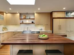 Black Walnut Kitchen Cabinets Modern Kitchen Design With Black Walnut Butcher Block Countertop