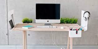 Desk Design Ideas Worknest Wooden Cool Work Desks Stained