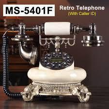 ms 5401f digital retro telephone corded
