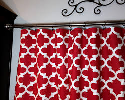 Red Swag Kitchen Curtains Moroccan Curtains Etsy