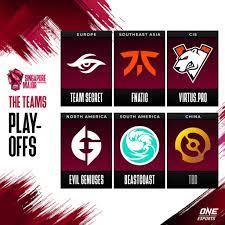 Esport Gaming PGL ประกาศรายชื่อ ONE Esports Singapore Major -