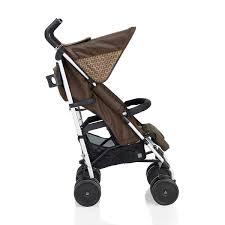 Designer Baby Stroller Fendi Inglesina Brown Zucca Logo Stroller
