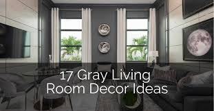 17 gray living room decor ideas