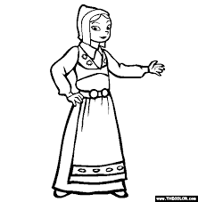 Small Picture Ethnic Wear Online Coloring Pages Page 1