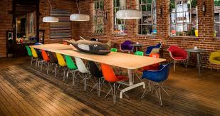 eames eiffel fiberglass side chair. eames® moulded fibreglass side chair- eiffel base (dfsr) - red orange herman miller living edge eames fiberglass chair