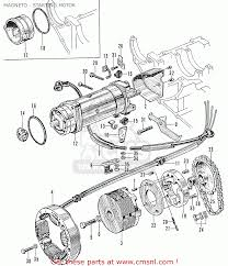 Honda cb125 cb93 general export mag o starting motor schematic