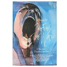 original film poster for pink floyd the wall  on pink floyd wall decor with original film poster for pink floyd the wall at 1stdibs