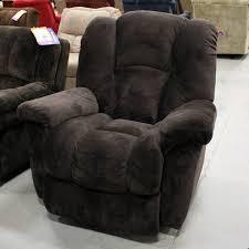 homestretch clyde big man brown microfiber rocker recliner weekends only furniture
