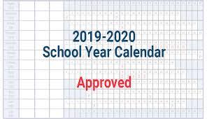 School Year Calendar 2019 2020 Avon Maitland District