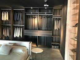 open closet ideas full of surprises with nowhere to hide walk in room bed middle class