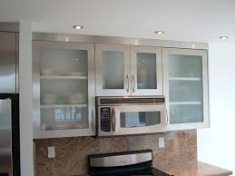 kitchen cabinet aluminum frame extrusions aluminium framed frosted glass doors stainless steel door knobs