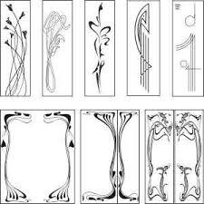 Public Domain Art Nouveau Paterns Free Graphic Downloads