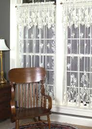 Lace Window Treatments Windsor Curtains By Heritage Lace Bedbathhomecom