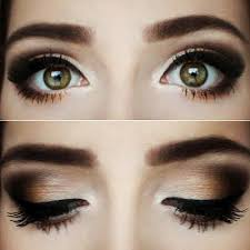 a warm chocolate smokey eye look perfect for a night out see the palette