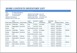 10 Inventory List Templates Word Excel Pdf Templates Www