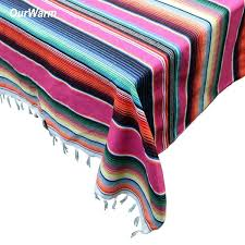 <b>Ourwarm 150x215cm</b> Mexican <b>Cotton</b> Table Cloth Mexican Party ...
