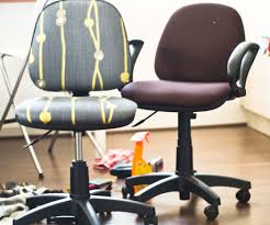 office chair reupholstery. Beautiful Reupholstery Give Those Old Desk Chairs New Life 7 Steps With Pictures Office Chair  Reupholstery Throughout