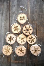 Rustic Planked Snowflake Ornament