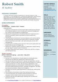 Auditor Job Description Resumes It Auditor Resumes Magdalene Project Org