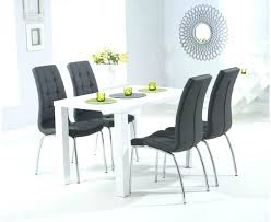 black gloss dining table black black high gloss dining table and 6 chairs