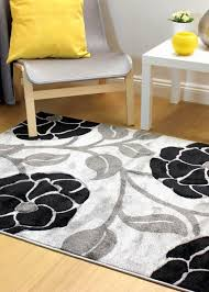 hand carved vine black grey rugs for free uk delivery capitalrugsuk