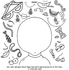Small Picture Create a Funny Face Coloring Page crayolacom