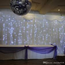 lighting curtains. Cheap Wedding Backdrop Led Curtain Light White Stage Background Curtains Drapery China Event Party Supplier Purple Decor Recycled Lighting G