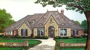 Image Sq Ft Frenchcountry Style House Plans 8457 Monster House Plans Frenchcountry House Plan Bedrooms Bath 2927 Sq Ft Plan 8457