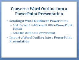 Ms Word Powerpoint Convert A Word Outline Into A Powerpoint Presentation Webucator Blog