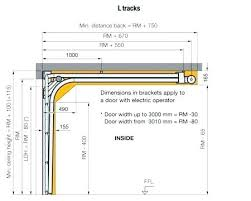 Garage Door Track Diagram Technical Diagrams