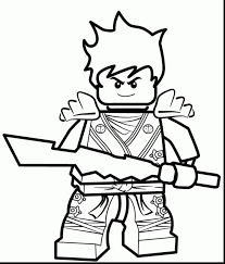 Fearsome Lego Ninjago Coloring Pages Lloyd To Print Free Printable