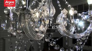 inspire chandelier 5 light ceiling fitting