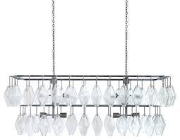 hutton adeline rectangular chandelier antiqued iron