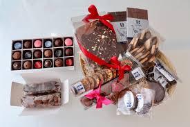 chocolate gift basket by toronto s stubbe chocolates