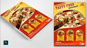 Flyer Design Food Burger Restaurant Flyer Design Photoshop Tutorial Food Poster