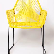 mamasita dining chair yellow