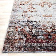 red and gray rug red gray area rug red brown grey rug