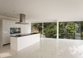 marble floor tile. Kitchen Design With Calacatta Gold Marble Floor Tiles Contemporary-kitchen Tile