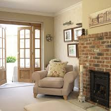 Image Of: Brown Country Living Room Colors
