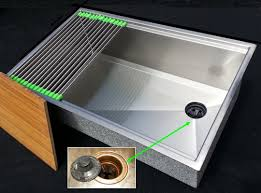 Sink With Cutting Board Ultraclean Ledge Kitchen Sink Ledges In The Sink Allow For A