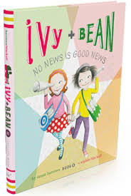 kid s book review ivy bean book 8 no news is good